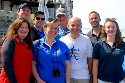 Law Society Yacht Club team